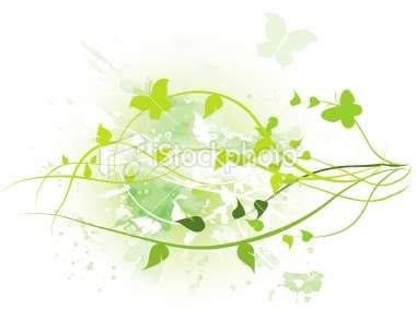 Spring-in-green