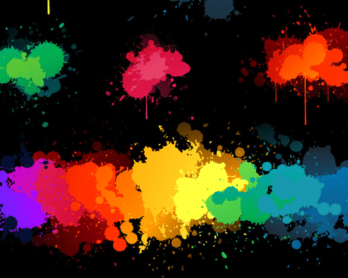 Colorful Blots