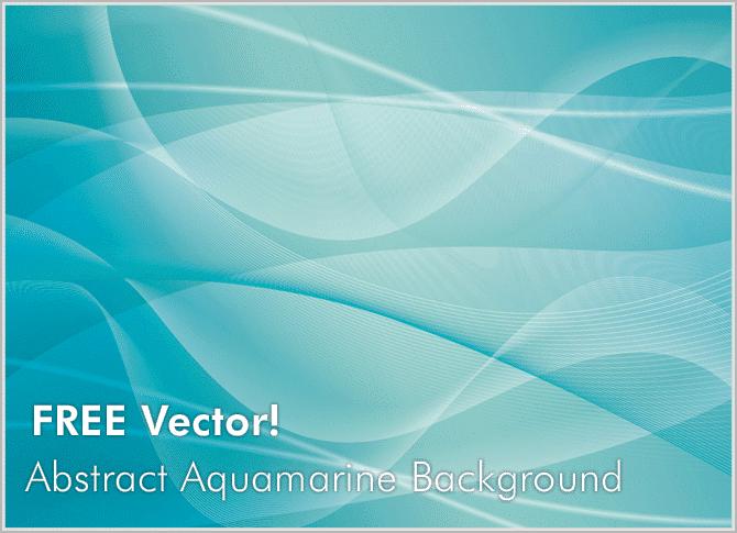 free-vectors-abstract-aquamarine-background