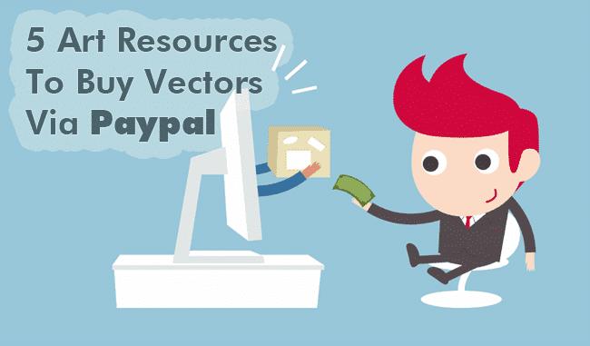 5 Art Resources To Buy Vectors Via Paypal