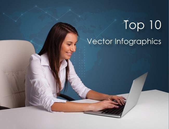 Top 10 Vector Infographics