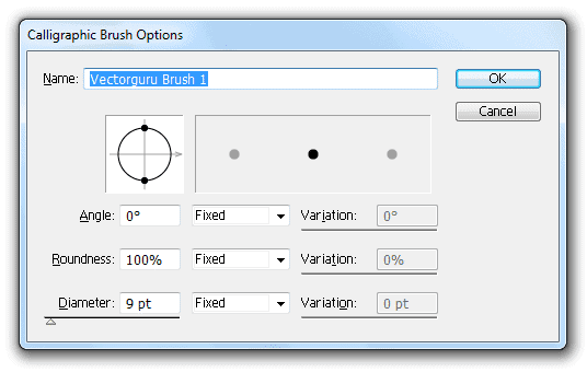 Calligraphy-Brush-options