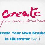Create your own brushes in illustrator