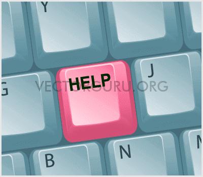 Help Graphic Vector