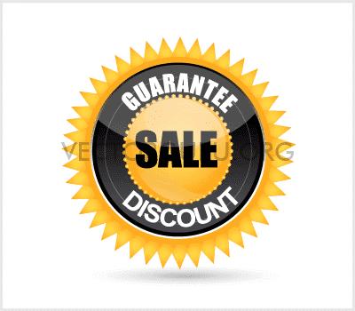 Guarantee Sale Discount Badge