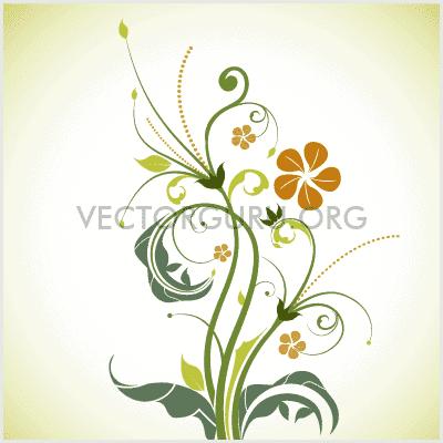 Retro Floral Artwork 2