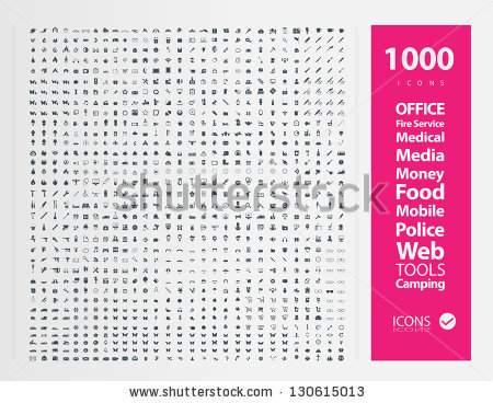 Set of 1000 Quality icon