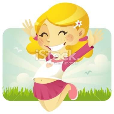 Jump with Joy (Girl)