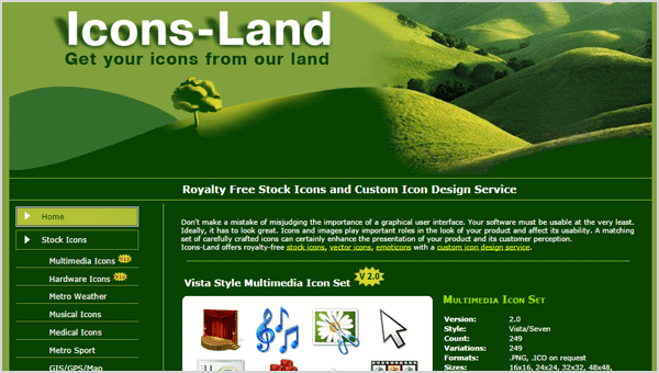 Icons-land