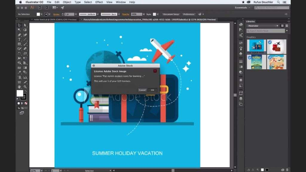 Adobe Stock and Illustrator Screenshot 3
