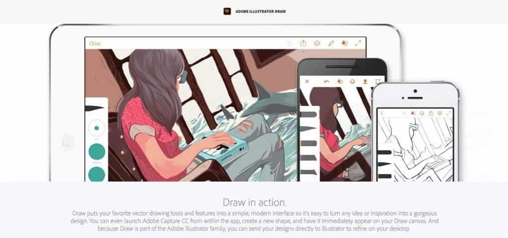 Adobe Illustrator Draw Home Page